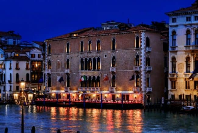 The Gritti Palace, a Luxury Collection Hotel, Venice that currently costs up to 35k Starpoins/night. In August through December 2018, it will only cost 20k SPG points/night.
