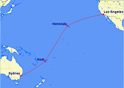 Only 50 000 Miles For A Trip To Hawaii Fiji And Australia