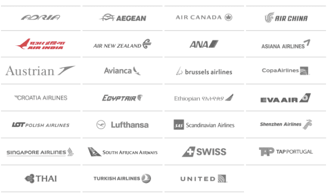 You can book award flights on any of these airlines with United miles and not have to worry about fuel surcharges flying any of them.