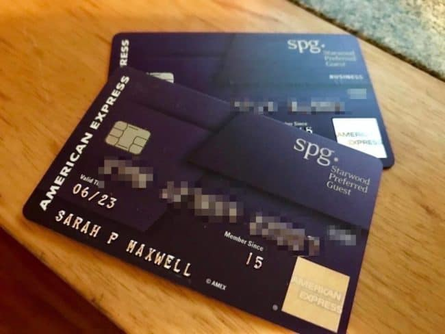 These are the existing versions of both SPG credit cards. At the end of August, there will be new rules in place that determine who is eligible/ineligible for their sign up bonuses.
